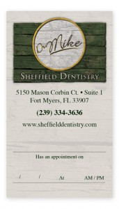 Sheffield-Appointment-Card